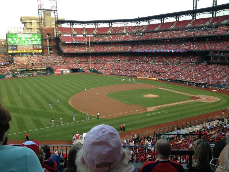 Seating view for Busch Stadium Section 261 Row 6 Seat 5