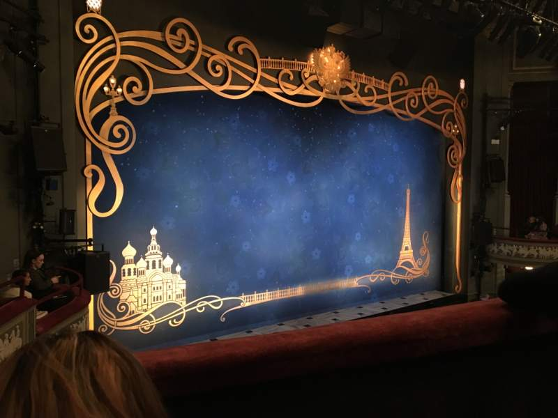 Seating view for Broadhurst Theatre Section Mezzanine L Row B Seat 17