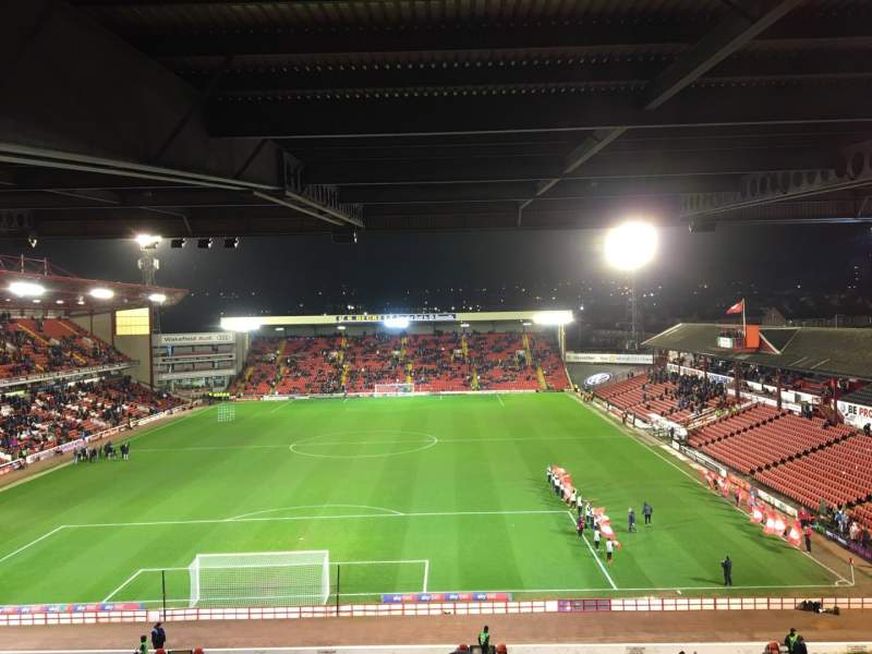 Seating view for Oakwell Stadium Section NS3 Row TT Seat 53