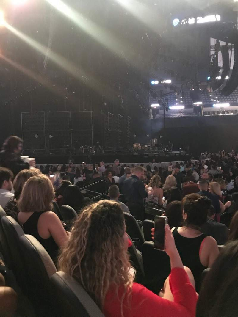 AT&T Center, section: 8, row: 9, seat: 11