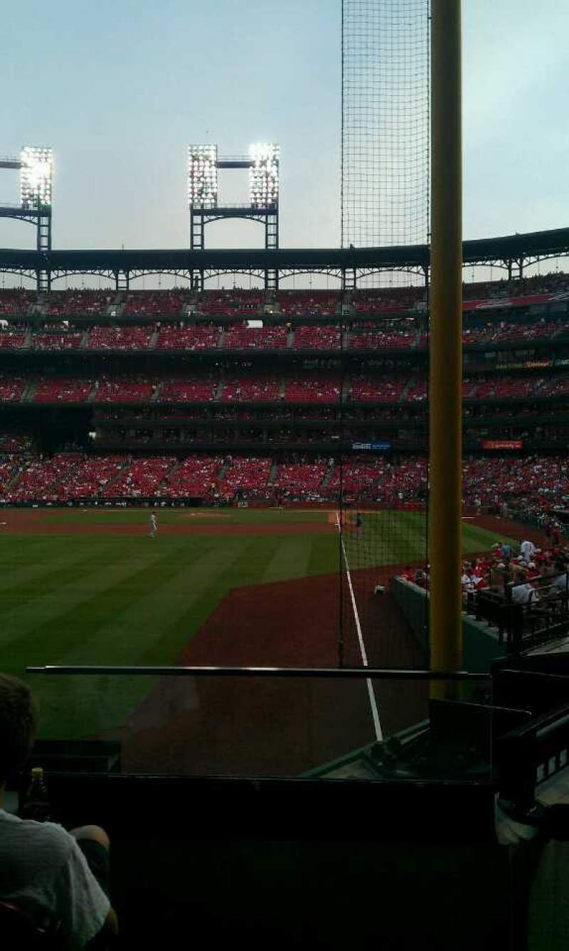 Seating view for Busch Stadium Section 170 Row 4 Seat 2