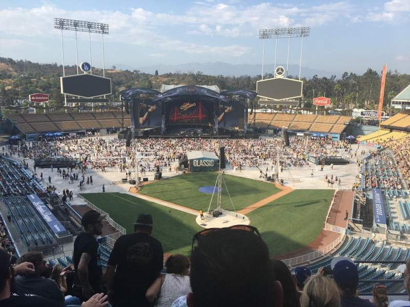 Seating view for Dodger Stadium Section 3rs Row H Seat 6