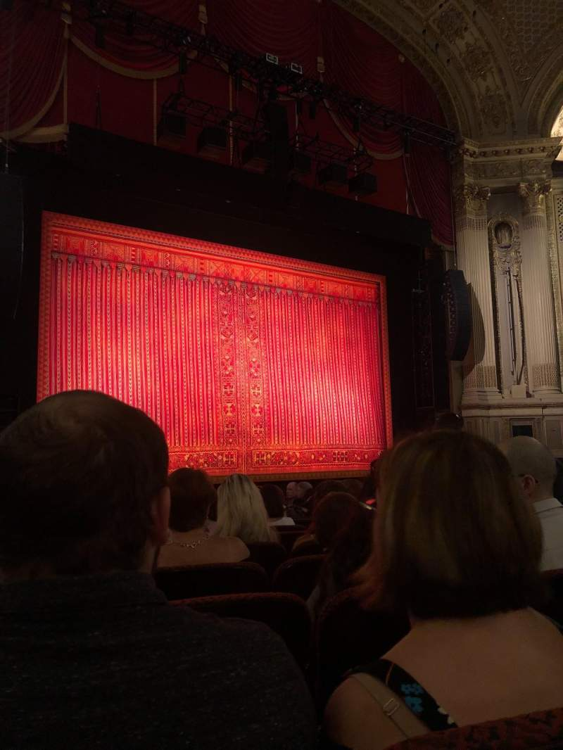 Seating view for Citizens Bank Opera House Section orchestra left Row L Seat 23