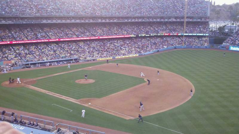 Seating view for Dodger Stadium Section 32RS Row A Seat 6