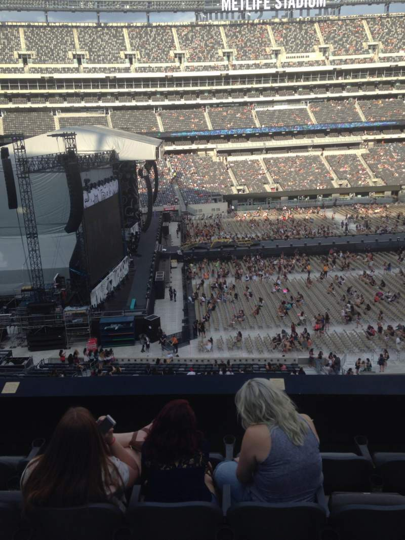 Seating view for MetLife Stadium Section 241 Row 5 Seat 17