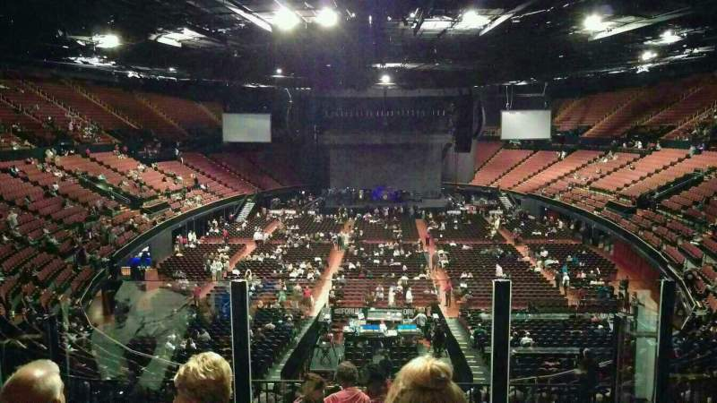The Forum Section 236 Row 5 Seat 9 Fleetwood Mac Tour