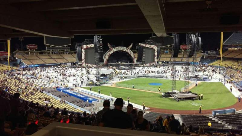 Seating view for Dodger Stadium Section 111LG Row W Seat 4