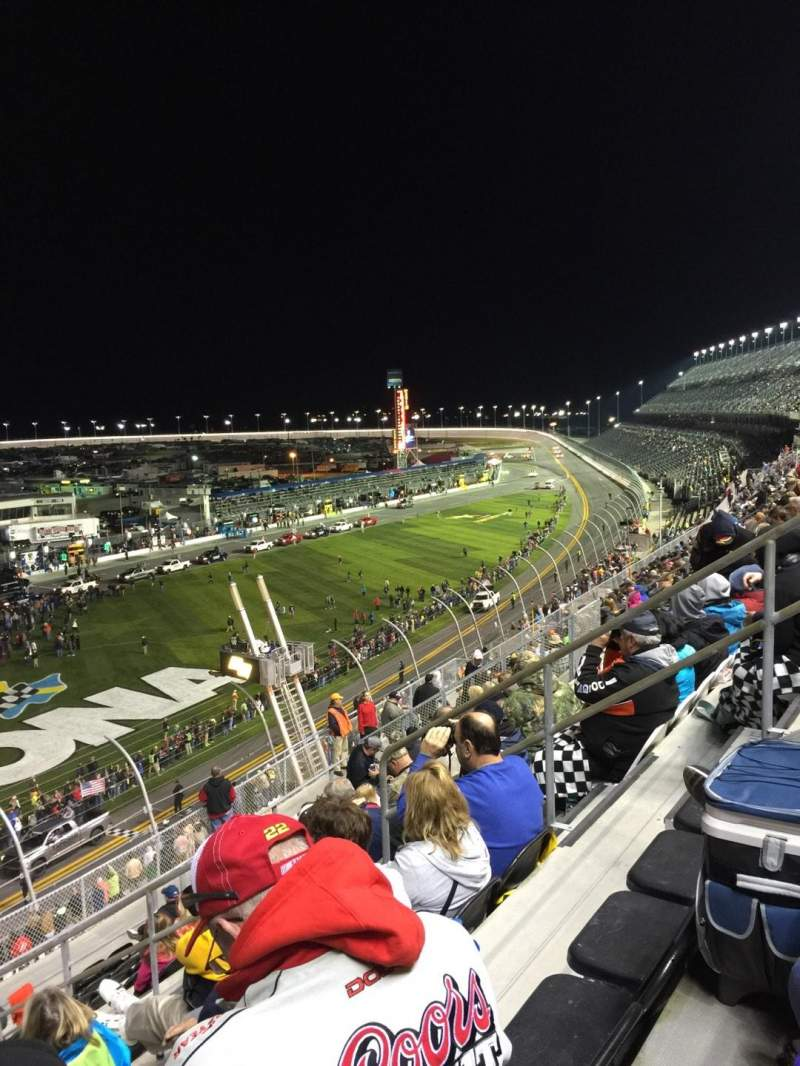 Seating view for Daytona International Speedway Section N Row 36 Seat 8