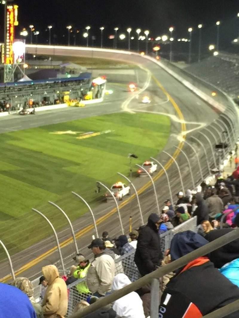 Seating view for Daytona International Speedway