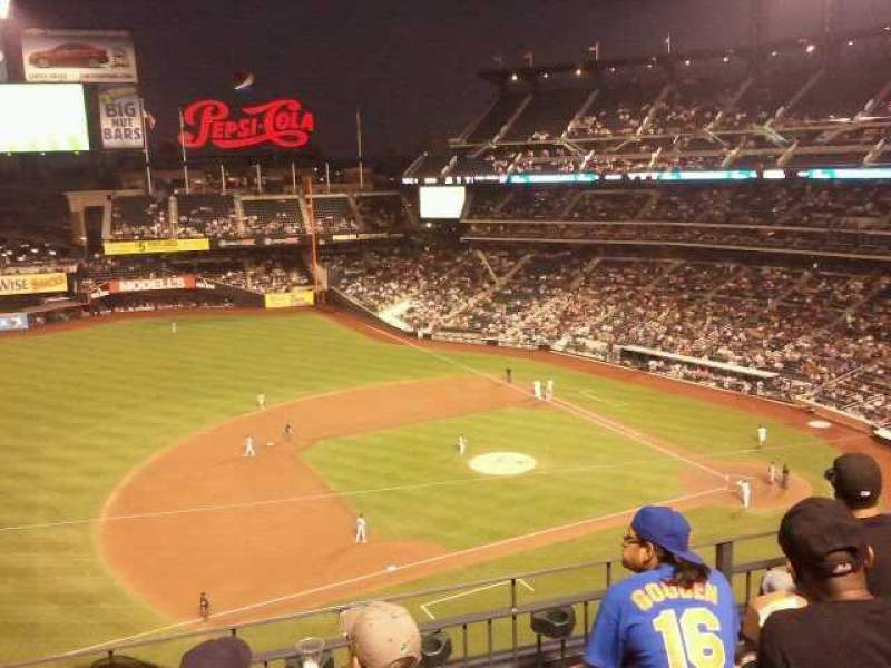 Seating view for Citi Field Section 422 Row 6 Seat 6