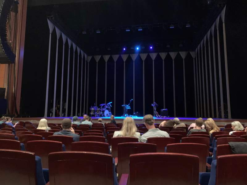 Seating view for Walt Disney Theatre - Dr. Phillips Center Section ORC CTR Row G Seat 115