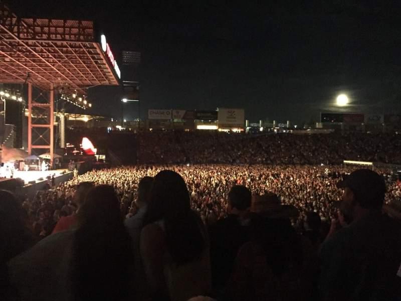 Toyota Stadium, section: 102, row: 15, seat: 8