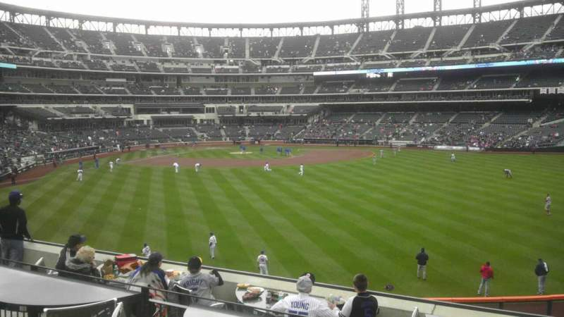 Seating view for Citi Field Section Shea Bridge.