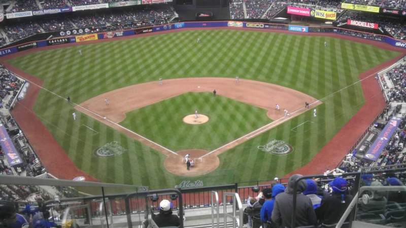 Seating view for Citi Field Section 514 Row 8 Seat 2