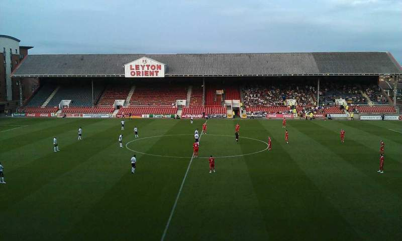 Seating view for Matchroom Stadium Section gallery Row g Seat 9