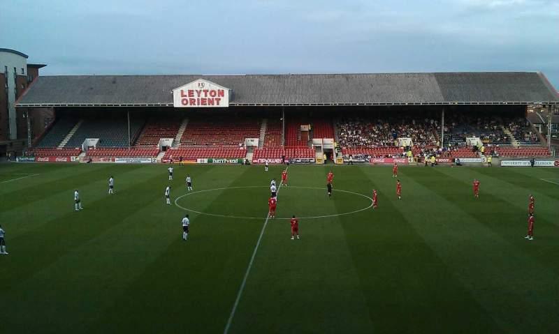 Matchroom Stadium, section: gallery, row: g, seat: 9