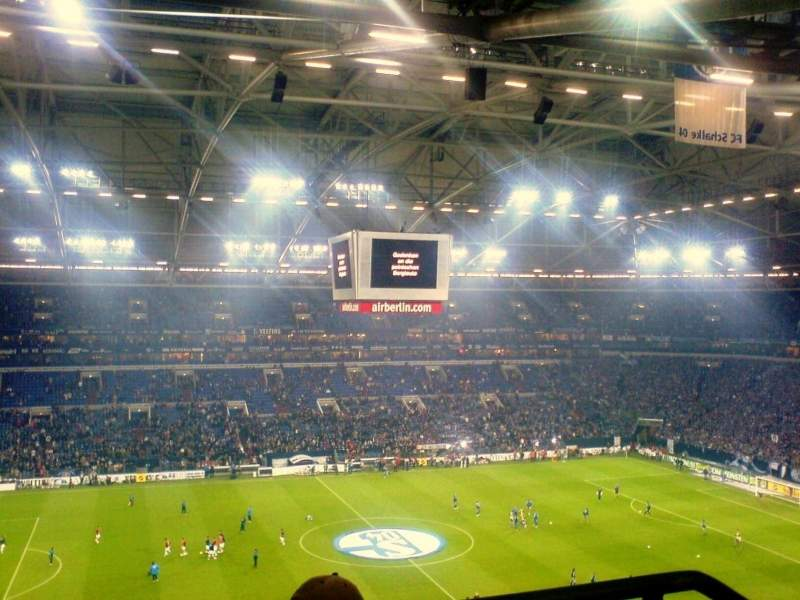 Seating view for Veltins-Arena