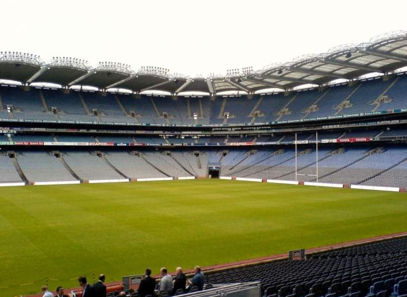 Seating view for Croke Park