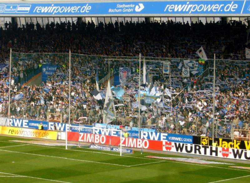Seating view for Ruhrstadion
