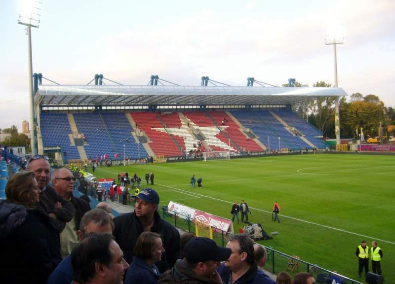 Seating view for Stadion Miejski in Krakow
