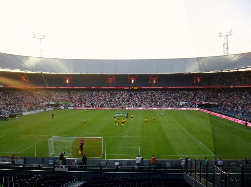 Seating view for Feijenoord Stadion