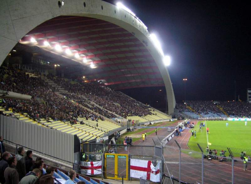 Seating view for Stadio Friuli