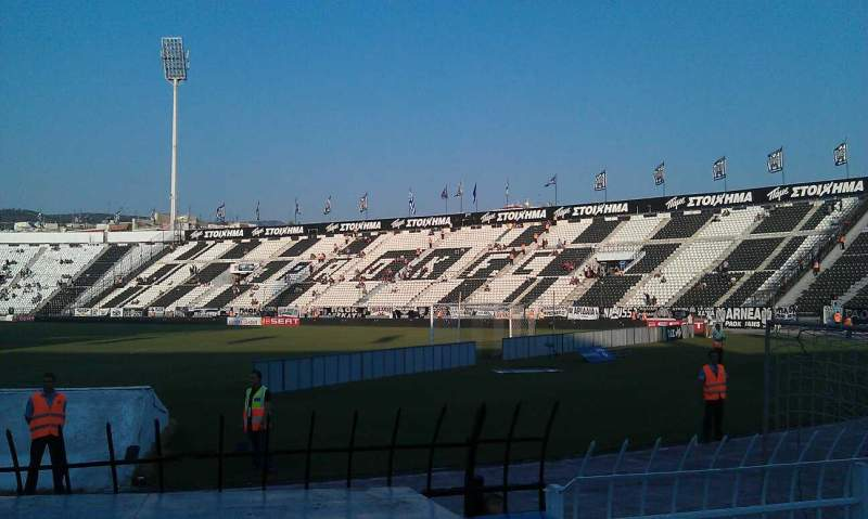 Seating view for Toumba Stadium