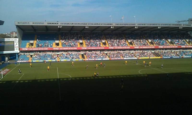 Seating view for The Den
