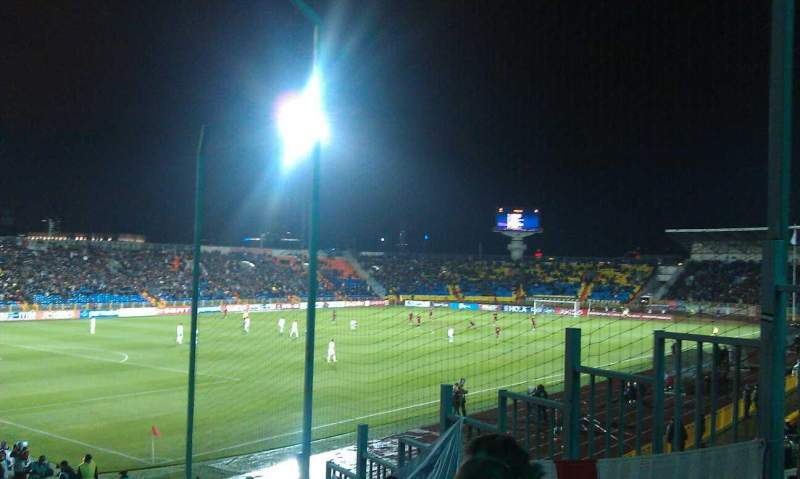 Seating view for Central Stadium (Kazan)