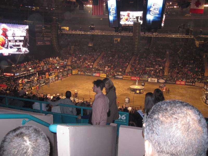 Madison Square Garden, section: 208, row: 4, seat: D1