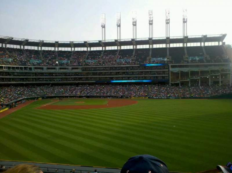 Seating view for Progressive Field Section 307 Row C Seat 19