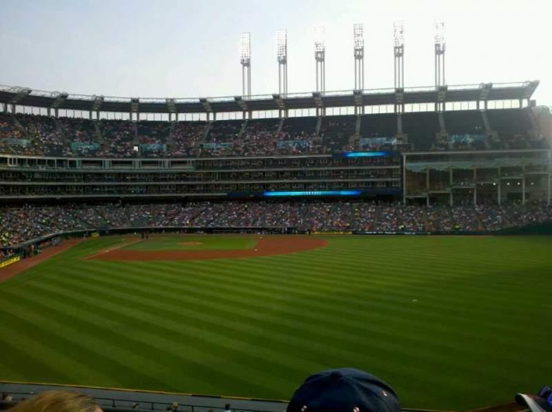 Progressive Field, section: 307, row: C, seat: 19