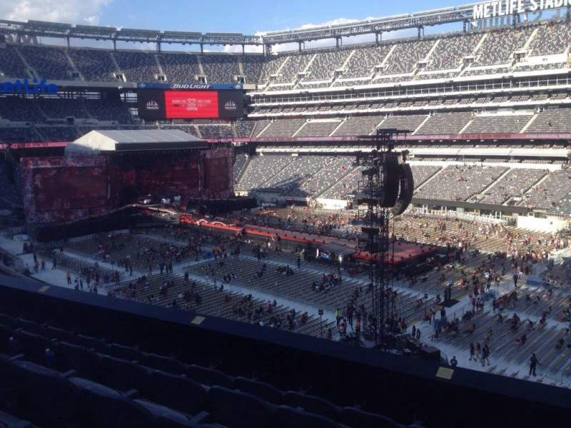 Seating view for MetLife Stadium Section 234 Row 5 Seat 6