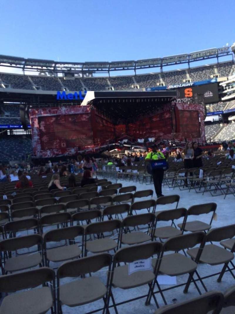 Seating view for MetLife Stadium Section 7 Row 29 Seat 5