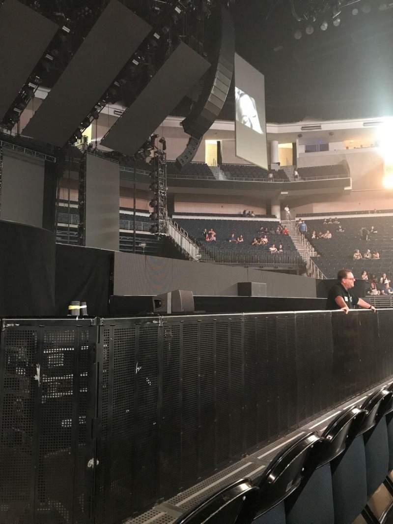 Infinite Energy Arena, section: FL05, row: B, seat: 10
