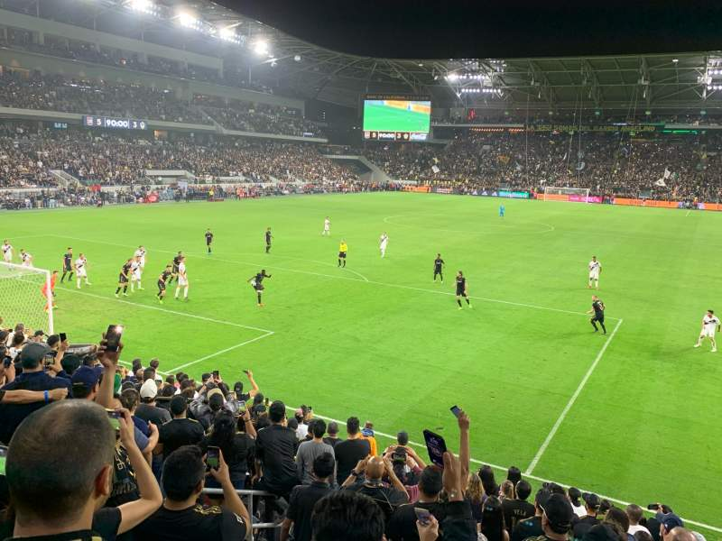Seating view for Banc of California Stadium Section 120 Row M Seat 19