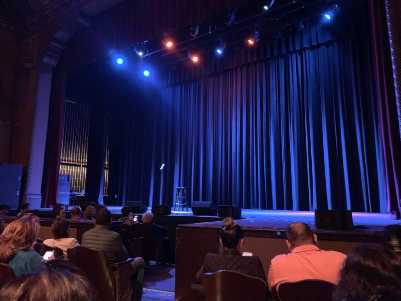 Seating view for Fox Performing Arts Center Section GLDORR Row E Seat 6