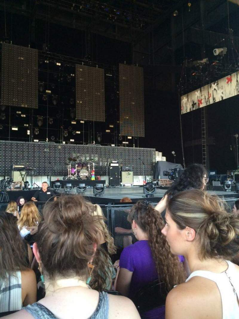 Seating view for Hollywood Casino Amphitheatre (Tinley Park) Section 103 Row K Seat 30-31