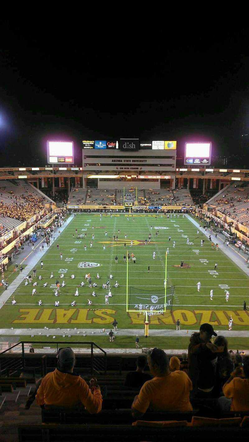 Seating view for Sun Devil Stadium Section 224 Row 15 Seat 18