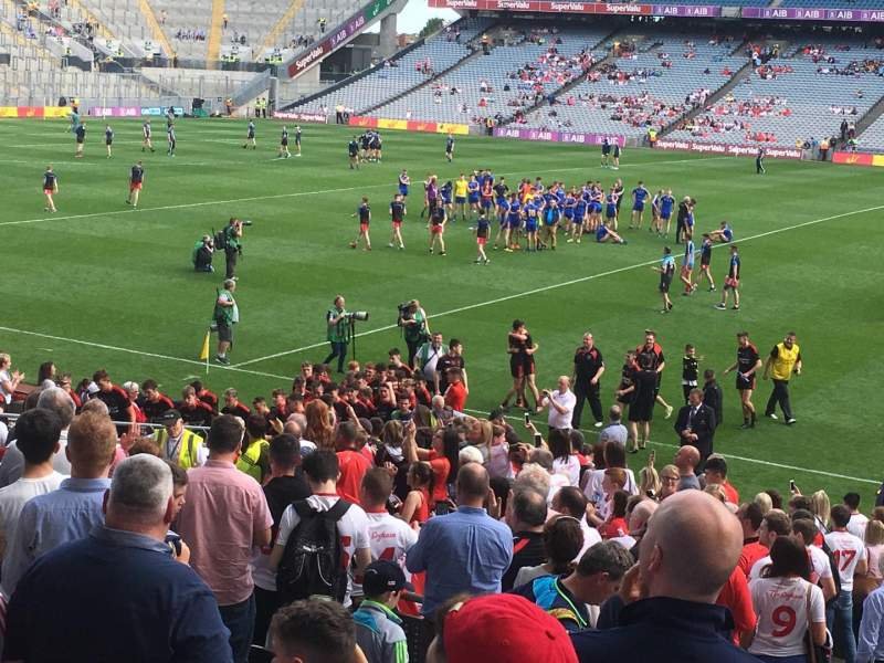 Seating view for Croke Park Section 331 Row AA Seat 7