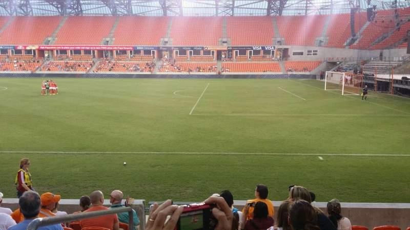 BBVA Compass Stadium, section: 103, row: h, seat: 29
