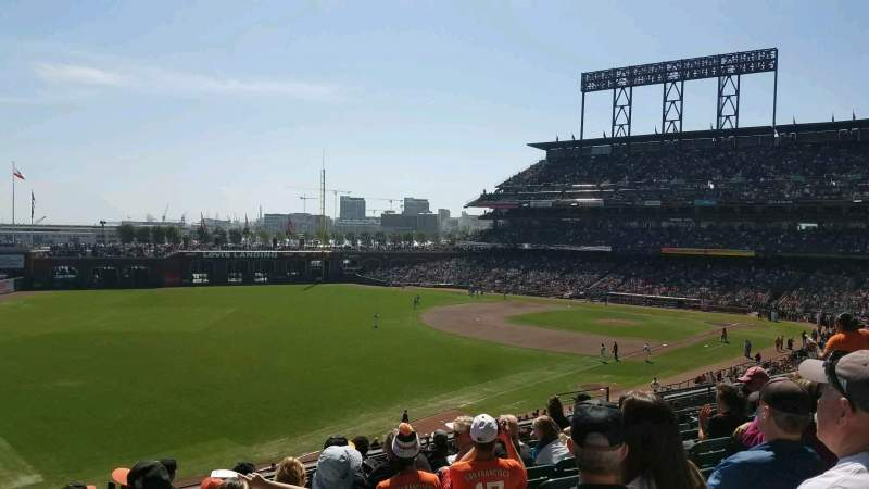 AT&T Park, section: 231, row: I, seat: 15