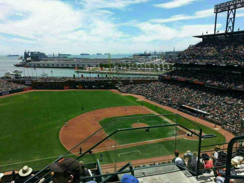 Seating view for AT&T Park Section 325 Row 3 Seat 3