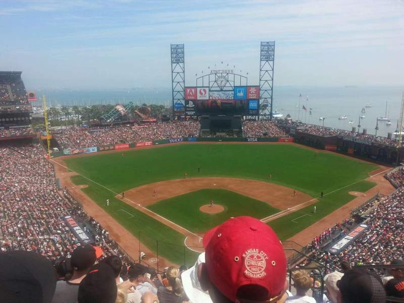 Seating view for AT&T Park Section 315 Row 9 Seat 3