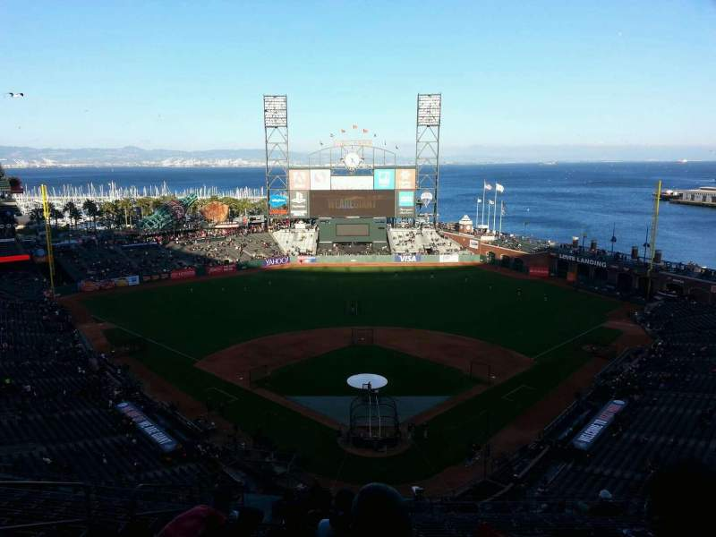 Seating view for AT&T Park Section 315 Row 13 Seat 17