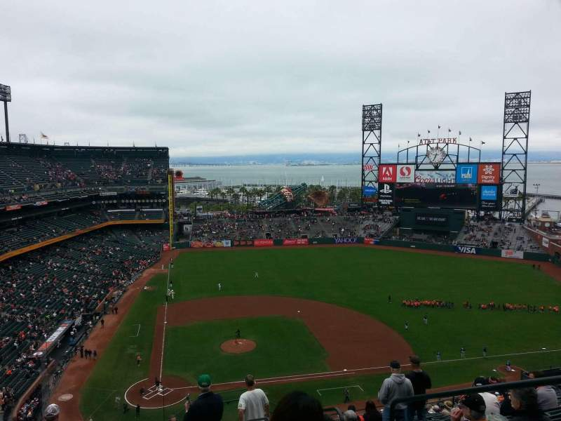Seating view for AT&T Park Section 311 Row 11 Seat 3