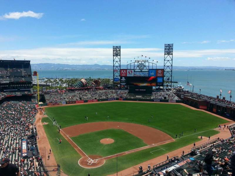 Seating view for AT&T Park Section 313 Row 10 Seat 13