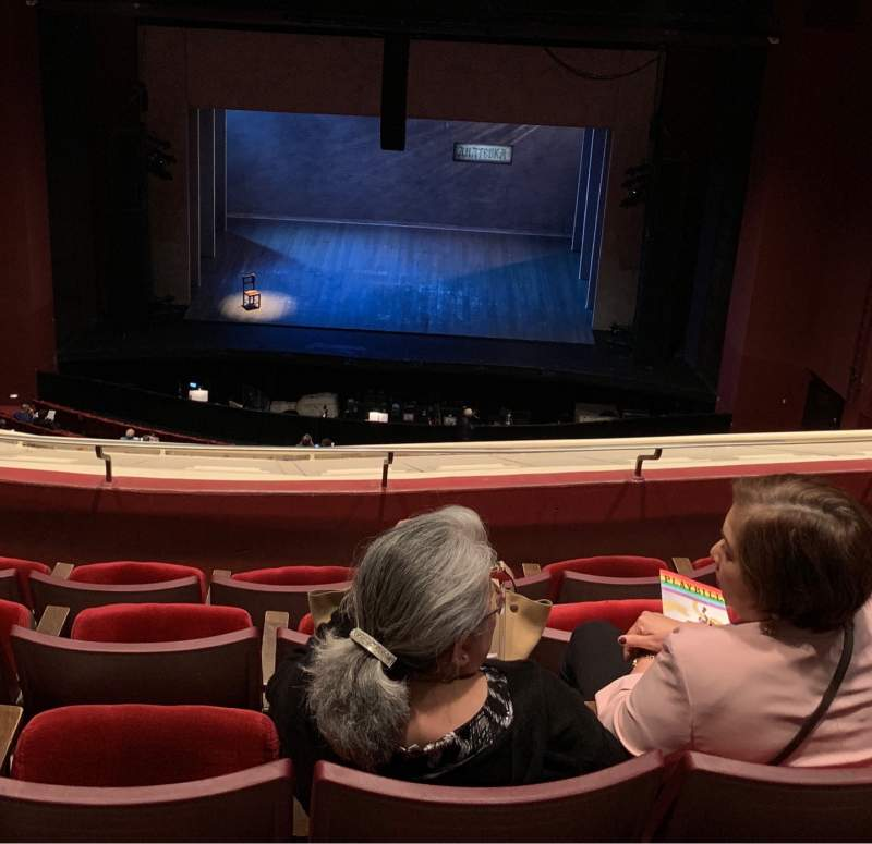 Seating view for San Diego Civic Theatre Section BALCR1 Row T Seat 6