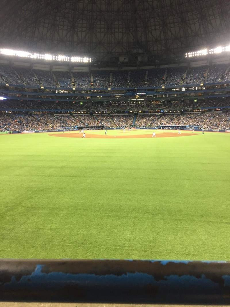 Seating view for Rogers Centre Section 142R Row 1 Seat 5
