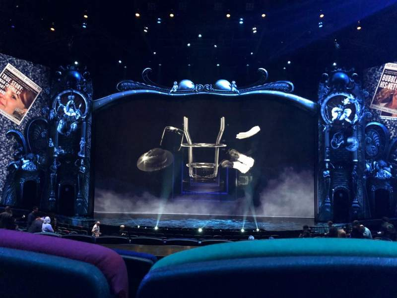 Seating view for Michael Jackson One Theatre Section 203 Row CC Seat 9